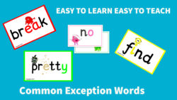 Common Exception Words